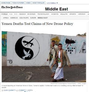 النيويورك تايمز عن الدرونز
