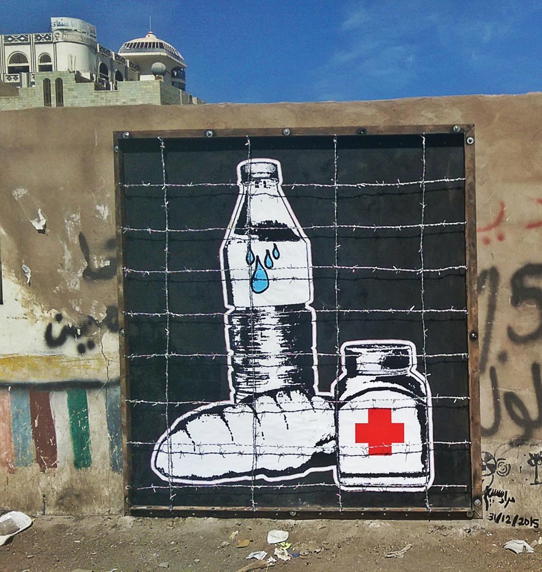 Mural about Blockade